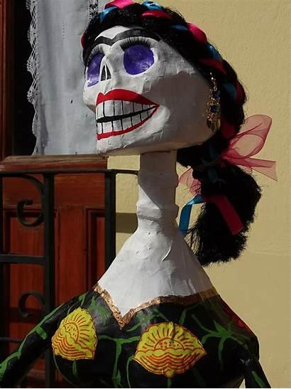 Catrina Flower Mexico Skeleton Tradition Dead Skull