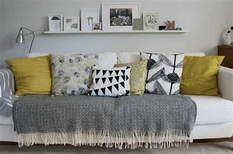 plaid canapé coussin pour canape gris ikeasia com