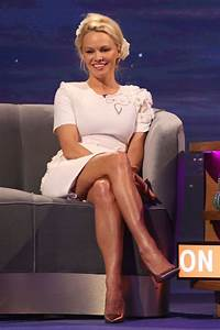 Pamela Anderson Appeared on 'The Nightly Show' in London 3 ...