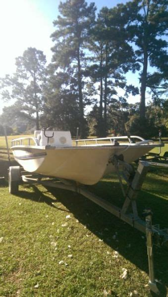 Flat Bottom Boat Console by Flat Bottom Fishing Boat Boats For Sale