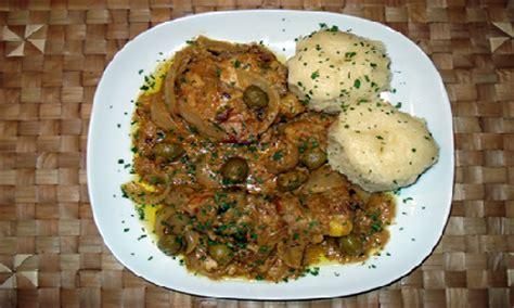 cuisine malienne mafé presentation des plats