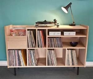 les 25 meilleures idees concernant stockage de disque With meuble vinyle