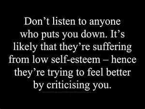 The 25+ best Im... Low Esteem Quotes