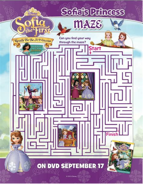 Halloween Mazes In Los Angeles 2017 by Disney Sofia The First Ready To Be A Princess Printable