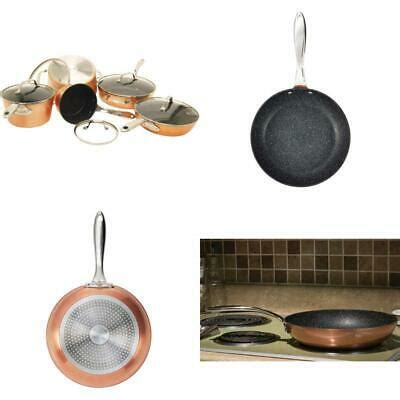 rock  starfrit   star  piece copper cookware set ebay