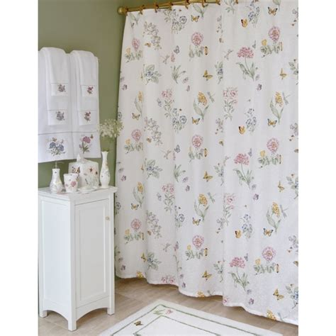 lenox butterfly meadow shower curtain free shipping on