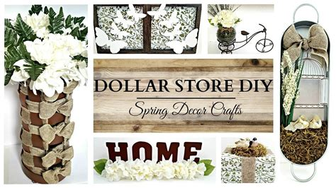 Earth Tone Spring Home Decor Crafts