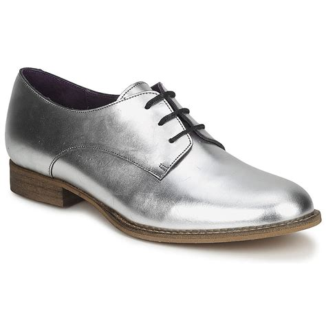 flat silver shoes silver lace up flat shoes by betty popsugar