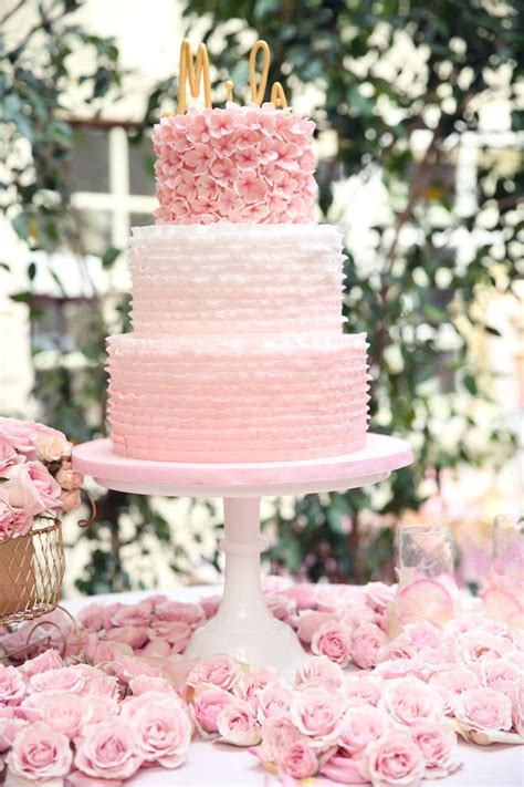 25 Best Ideas About Pink Ruffle Cake On Pinterest