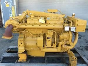 Caterpillar 3406 Dita Marine Propulsion Engine  U2013 Sold