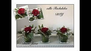 Tischdeko Selber Machen : diy edle rosendeko hochzeitsdeko tischdeko blumendeko ~ Watch28wear.com Haus und Dekorationen