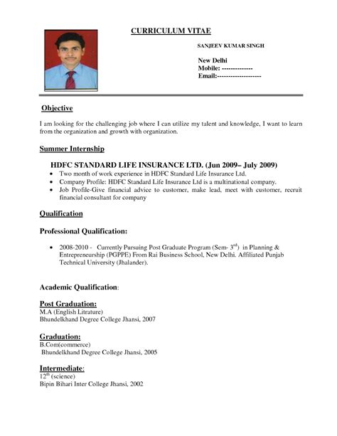 Form Of Resume Application by Choosing The Right Resume Format Is Critical To Presenting