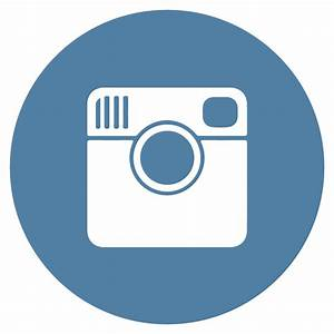 Instagram flat icon circle vector download