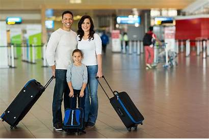 Travel Airport Suitcases Traveling Suitcase Happy Safe