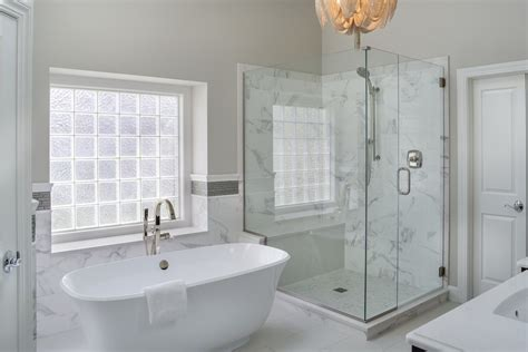 Corner Stand Alone Tub by Leawood Lifestyle Magazine Features Our Project