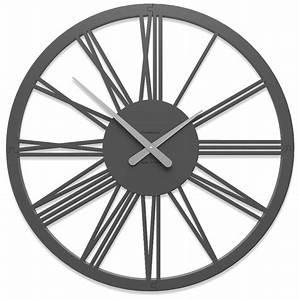 Horloge Murale Chiffre Romain : horloge chiffre romain pompei ~ Teatrodelosmanantiales.com Idées de Décoration