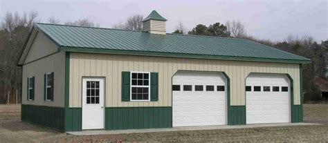 Steel Pole Barn Kits by Pole Barn Garage Kits 101 Metal Building Homes