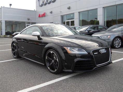 audi tt rs black cars  sale
