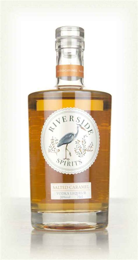 A sip of this yummy cocktail will warm you up on a chilly autumn night. Riverside Salted Caramel Vodka Liqueur - Master of Malt