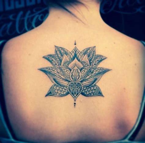 attractive lotus flower tattoo designs