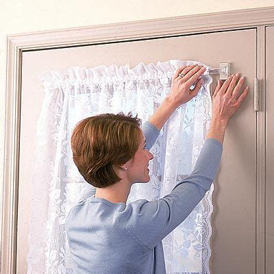 miracle rod clear magnetic curtain rod window treatments