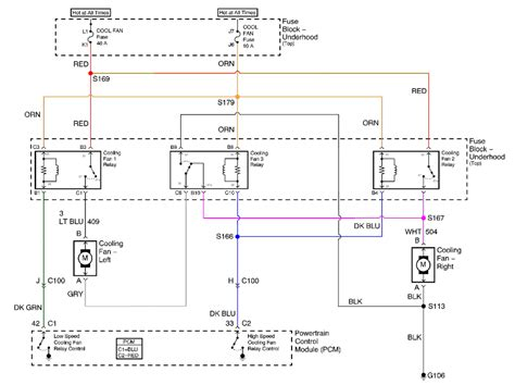 painless dual fan relays wiring diagram 2005 chevy tahoe