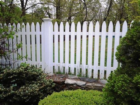 white wood picket fence wood fence