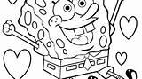 Coloring Sponge Sea Spongebob Worksheet Getdrawings sketch template