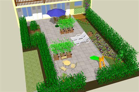 sketchup garden conception 3d de jardin avec le logiciel