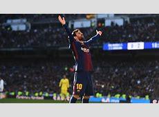 Real Madrid 03 Barcelona Lionel Messi settles El Clasico