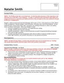 marketing manager resume achievements sle brand marketing resume