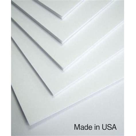hartboard foam core board 4 x 8 box of 25 sheets