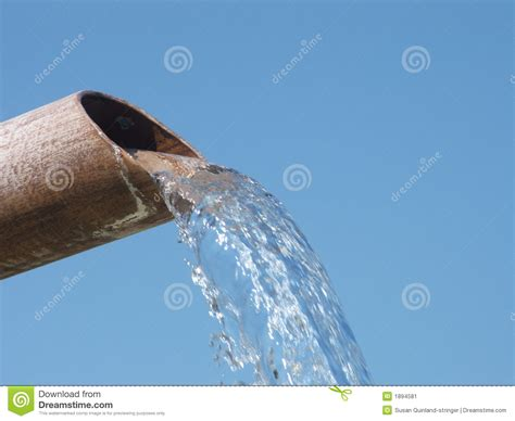 Water Pipe stock image. Image of excess, rusty, green ...