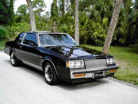 buick regal turbo  black