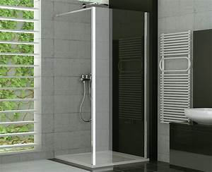 Duschtrennwand Bodengleiche Dusche : duschtrennwand glas feststehend 75 x 190 cm ~ Michelbontemps.com Haus und Dekorationen