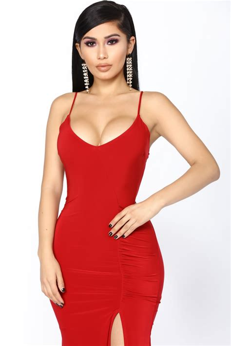 Love Sex Money Dress Red Dresses Fashion Nova