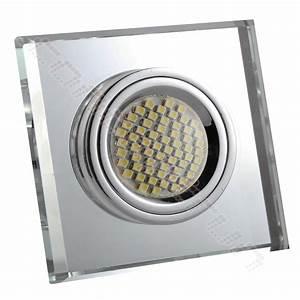 Led Spot 230v : led einbaustrahler spot glas alucristal einbauleuchte set gu5 3 12v gu10 230v 1 ebay ~ Watch28wear.com Haus und Dekorationen