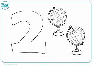 Fichas para aprender a contar Mundo Primaria