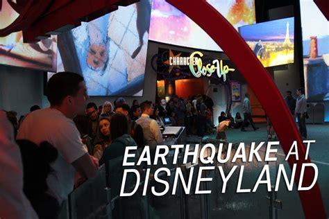 earthquake  disneyland evacuation  youtube