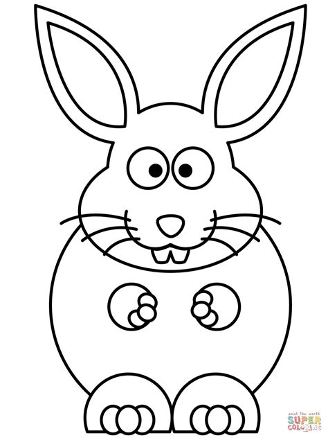 bunny coloring pictures bunny coloring page free printable coloring pages