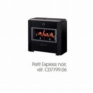 Poele A Bois Petit : po le bois petit express noir deville ~ Premium-room.com Idées de Décoration