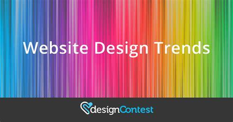 website design trends  designcontest