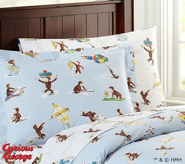 curious george tm duvet cover