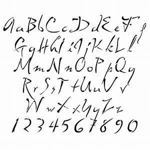 tattoo lettering stencils With tattoo letter stencils