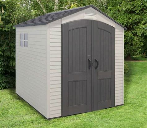 8 x 5 shed 8 x 7 5 lifetime heavy duty plastic shed what shed