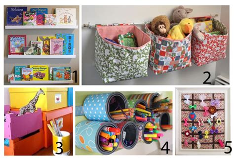 Kids Diy Storage Projects