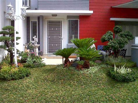 gambar taman rumah mewah minimalis