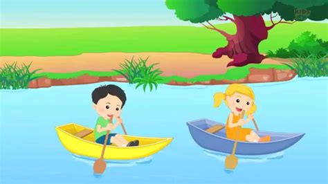 Row Row Your Boat Abc Kid Tv by Row Row Row Your Boat Nursery Rhyme And Children S Songs