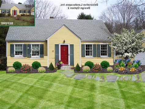 home front yard landscaping ideas landscape ideas around house