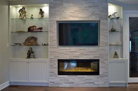 custom fireplace cabinet design toronto stylish fireplaces
